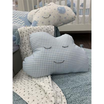 Εικόνα της Μαξιλάρι Handmade Cloud Sweet Blue