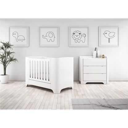 Εικόνα της Βρεφικό Δωμάτιο Casababy Harmony White