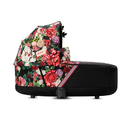 Εικόνα της Cybex Πορτ Μπεμπέ PRIAM / e-PRIAM Lux Carry Cot Spring Blossom Dark