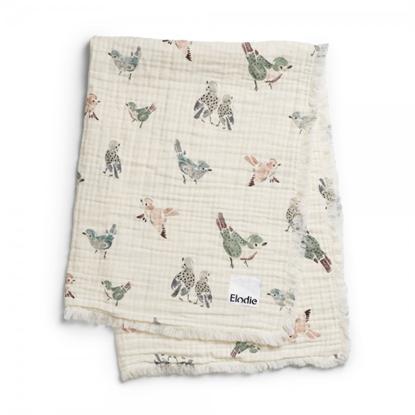 Εικόνα της Κουβέρτα Βαμβακερή Elodie Details Feather Friends Elodie