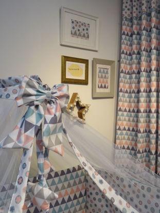 Εικόνα της Κουνουπιέρα Handmade Baby Triangle