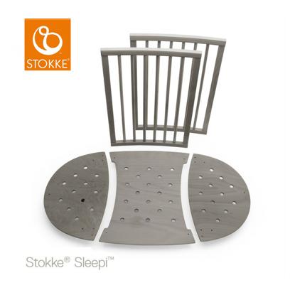 Εικόνα της Stokke bed extension set επέκταση κρεβατιού 120cm Hazy Grey