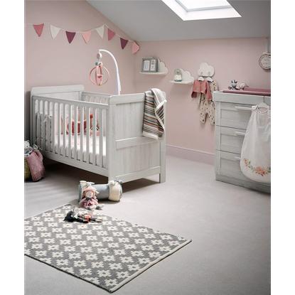 Εικόνα της Κρεβάτι Mamas & Papas ATLAS Nimbus White