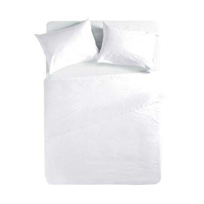 Εικόνα της Σεντόνι Μεμονωμένο Basic WHITE Μονό με λάστιχο
