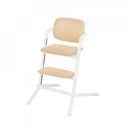 Εικόνα της Καρέκλα Cybex Lemo  Wood Porcelaine White