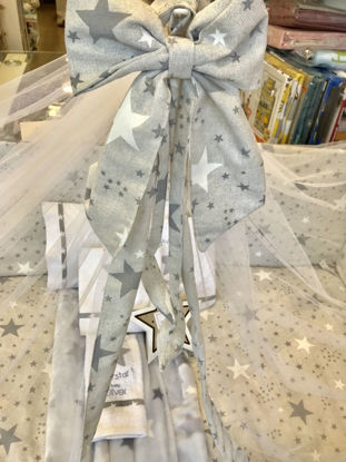 Εικόνα της Κουνουπιέρα Handmade Twinkle Twinkle Grey
