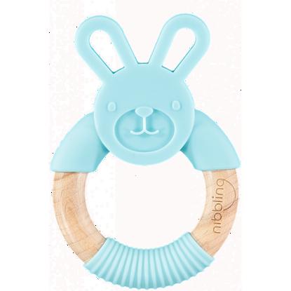 Εικόνα της Μασητικό-Κρίκος Οδοντοφυίας Nibbling Bo Bunny Blue