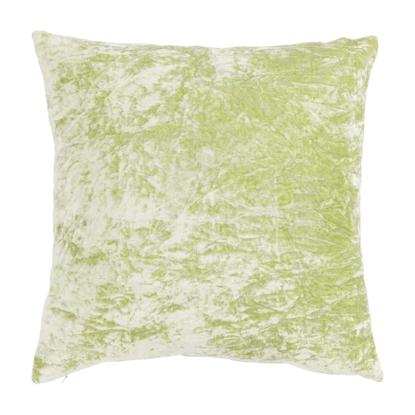 Εικόνα της Μαξιλάρι Linen & More Crushed Velver Nile Green