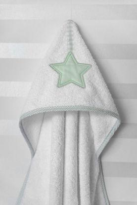 Εικόνα της Μπουρνούζι - Κάπα Baby Oliver Lucky Star