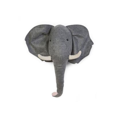 Εικόνα της Τσόχινο Διακοσμητικό Τοίχου Felt Elephant Head