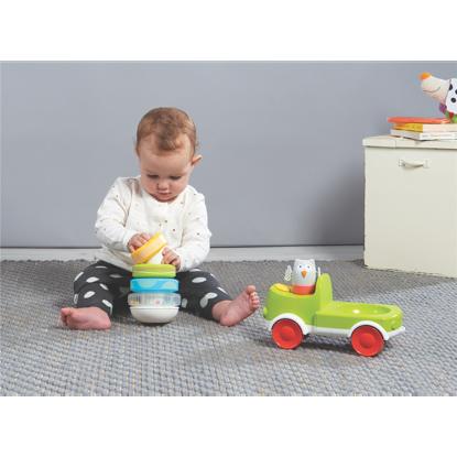 Εικόνα της Taf Toys Παιχνίδι Δραστηριοτήτων Φορτηγό Crawl N' Stack