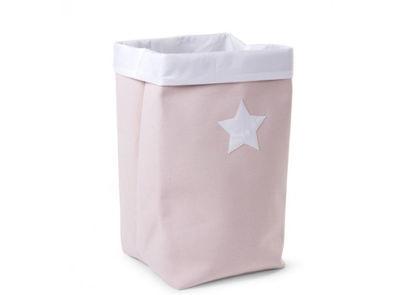 Εικόνα της Κουτί Αποθήκευσης Κανβάς Pink White