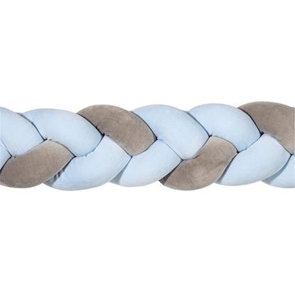 Εικόνα της Nany (Πλεξούδα Πάντα) Grey-Light Blue 2,20Μ