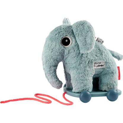 Εικόνα της Τροχήλατο Παιχνίδι Done By Deer Ελέφαντας Blue