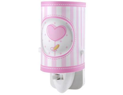 Εικόνα της Sweet Light LED νυκτός πρίζας ροζ