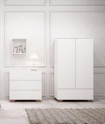 Εικόνα της ΝΤΟΥΛΑΠΑ OSLO WHITE-WALNUT