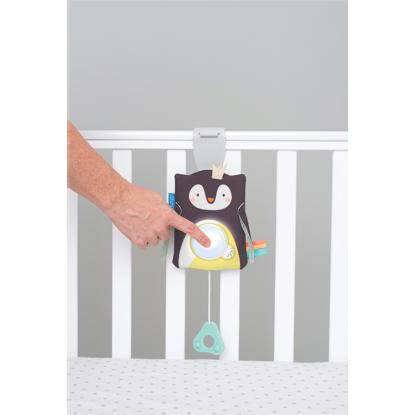 Εικόνα της Taf toys Prince the penguin baby soother ζωάκι συντροφιάς με ήχο