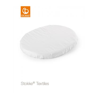 Εικόνα της Stokke Sleepi Mini Fitted Sheet κατωσέντονο white 80 cm
