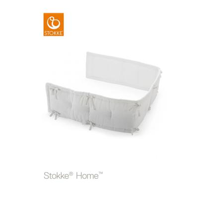 Εικόνα της Stokke half bumber μισή πάντα κρεβατιού White