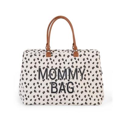 Εικόνα της Τσάντα Αλλαγής Childhome Mommy Bag Big Canvas Leopard