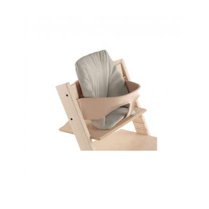 Εικόνα της Stokke Tripp Trapp Baby Cushion μαξιλάρι παιδικού σετ Timeless Grey