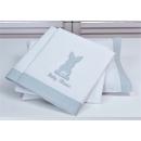 Εικόνα της Σετ σεντόνια κούνιας 3 τεμαχίων Baby Oliver Grey Bunny