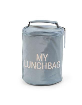 Εικόνα της Τσάντα Childhome My Lunch Bag με Ισοθερμική Επένδυση Grey/Off White