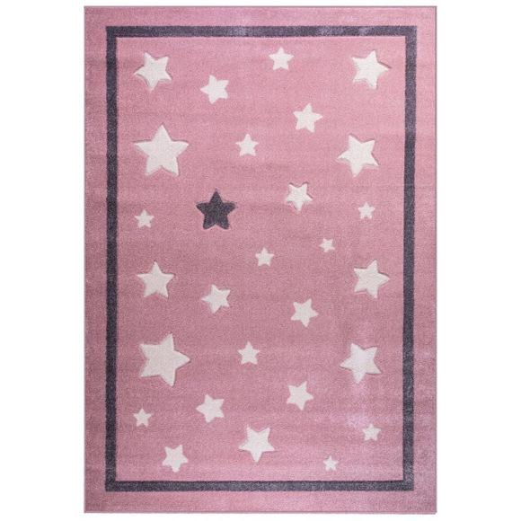 Εικόνα της ΧΑΛΙ STARS A173A PINK 160x230