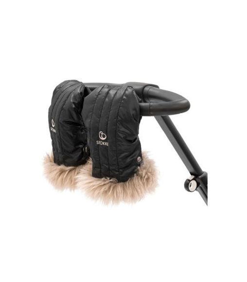 Εικόνα της Stokke® Stroller Mittens Onyx Black Gloves