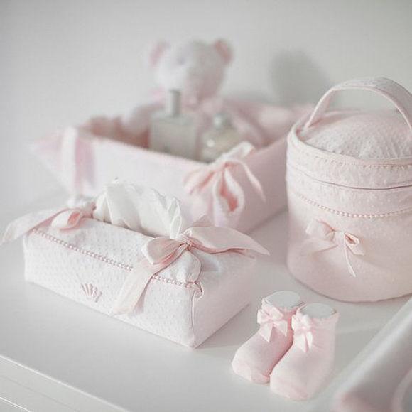 Εικόνα της Θήκη για τα χαρτομάντηλα My First Collection Pretty Pink