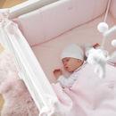Εικόνα της Παπλωματοθήκη κούνιας My First Collection Pretty Pink