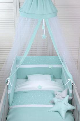 Εικόνα της Προίκα μωρού Baby Oliver Muslin Mint