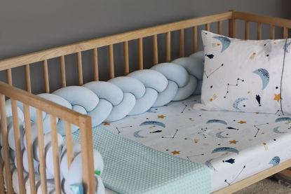 Εικόνα της Nany (Πλεξούδα πάντα) baby blue 140×18