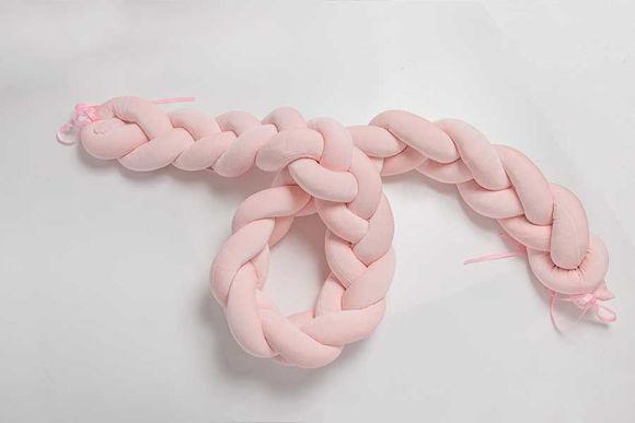 Εικόνα της Nany (Πλεξούδα πάντα) pink 140×18
