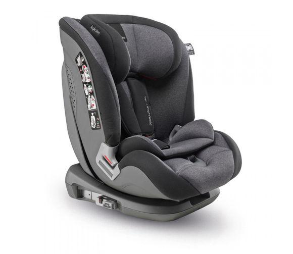 Εικόνα της Inglesina παιδικό κάθισμα αυτοκινήτου Newton I-fix Group 1/2/3 black