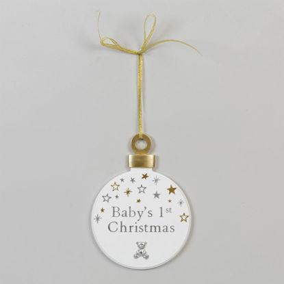"""Εικόνα της Κρεμαστή Μπάλα """"Τα Πρώτα Μου Χριστούγεννα"""""""