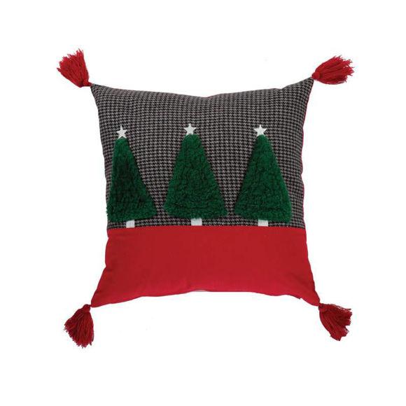 Εικόνα της ΜΑΞΙΛΑΡΙ CHRISTMAS TREES 45X45 NEF-NEF