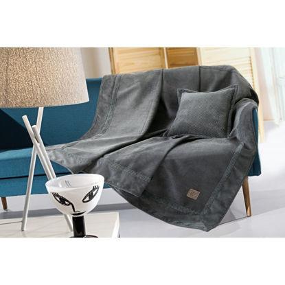 Εικόνα της Ριχτάρι τετραθέσιου καναπέ RUBICON ANTHRACITE 170x350