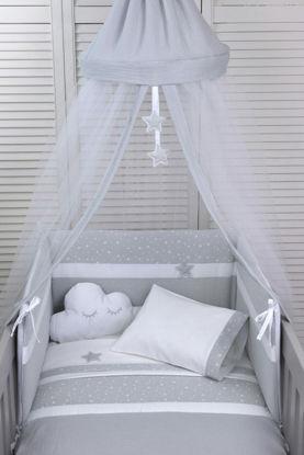 Εικόνα της Σετ προίκας μωρού Muslin Grey