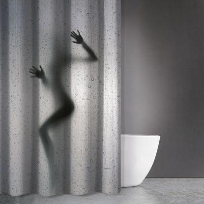 Εικόνα της Κουρτίνα Μπάνιου Zen Body Des 810 Multi Saint Clair 180x200cm