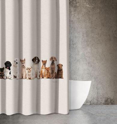 Εικόνα της Saint Clair Κουρτίνα Μπάνιου 180x200 Animals Des 208