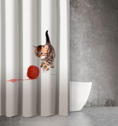 Εικόνα της Saint Clair Κουρτίνα Μπάνιου 180x200 Animals Des 210