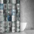 Εικόνα της Saint Clair Κουρτίνα Μπάνιου 180x200 Abstract Des 107