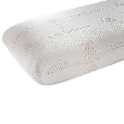 Εικόνα της Μαξιλάρι Ύπνου Memory Foam Visco Elastic (Aloe Vera) Normal White Guy Laroche