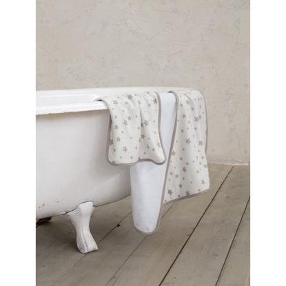 Εικόνα της NIMA - Σετ πετσέτες (1 x 30x50 + 1 x 70x140) Giggle - Gray