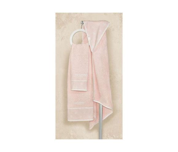 Εικόνα της Guy Laroche Heaven pink βρεφικές πετσέτες 2 τεμ