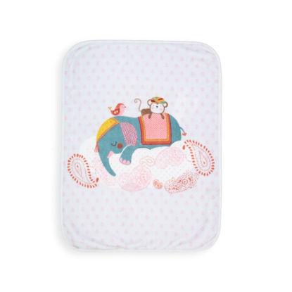 Εικόνα της Βρεφική Κουβέρτα Αγκαλιάς Boho Baby Nef-Nef 75X100