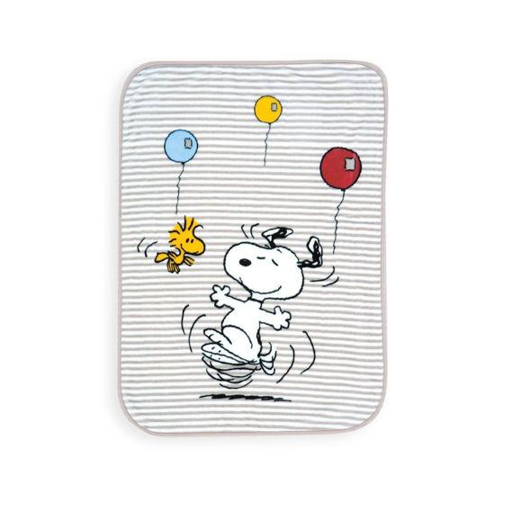 Εικόνα της Βρεφική Κουβέρτα Κούνιας Snoopy World Nef-Nef 100X140