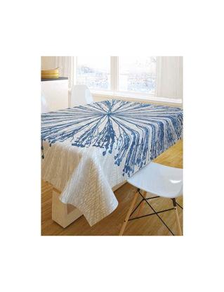 Εικόνα της Τραπεζομάντηλο Saint Clair 1019 blue 145 x 180