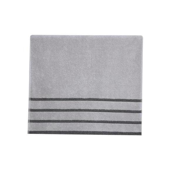 Εικόνα της Πετσέτες Μπάνιου (Σετ 3τμχ) Nef-Nef Madison Grey/Black